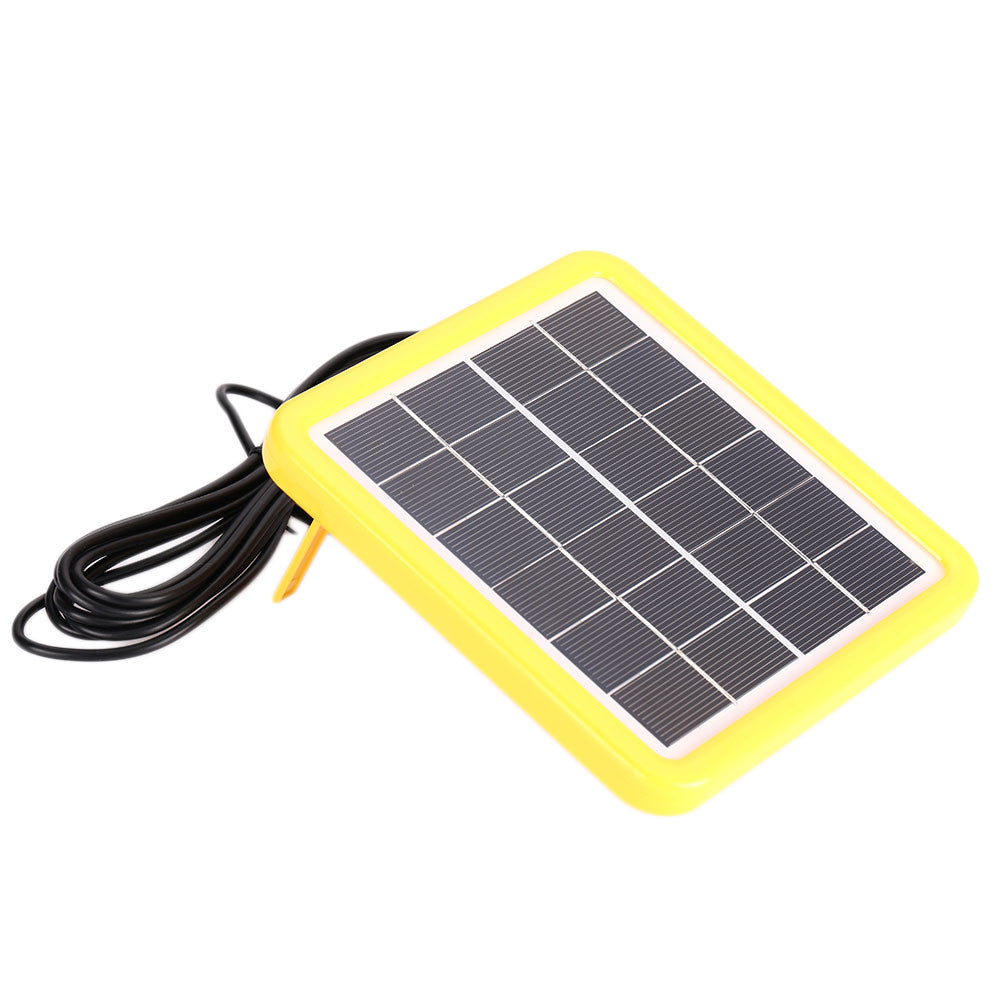 Solar Panel Module Solar Battery Portable Camping Travel Solar Changer 6V2W Polysilicon Solar Light Outdoor