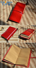 Creative Vintage Diary Notebook Agenda With Leather Cover Filofax Note Book For School Korean Stationery Or Traveler N141