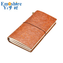 Handmade Vintage Leather Diary Notebook Rind Binder Sketchbook For Travel Journal Business Office School Supplies Notebook N152