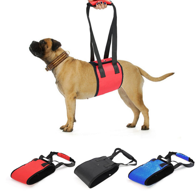 Pet Dog Harness Lift Support Protection Belt Lift with Handle Support Pet Strap Dog Protection Belt Supply Dog Leash Harnesses