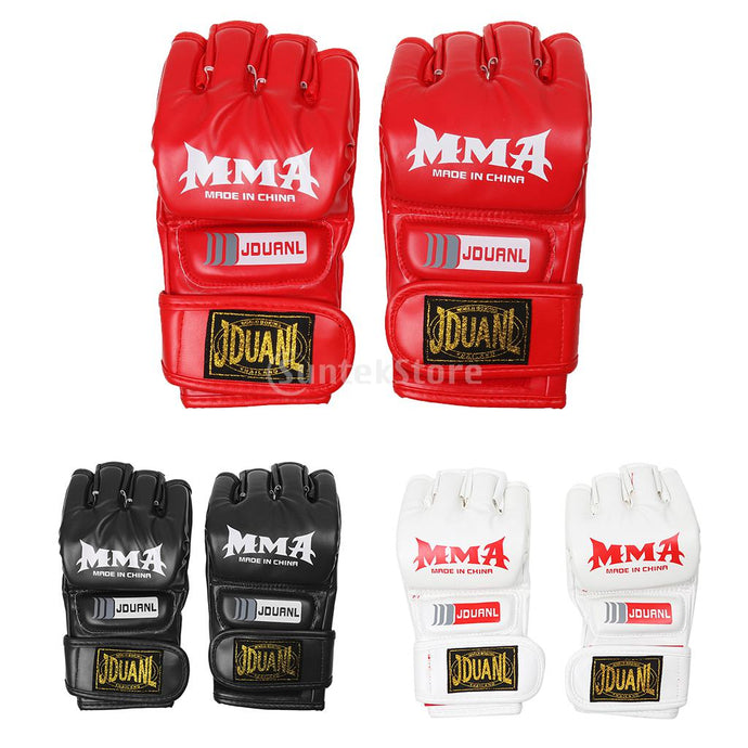 MMA Grappling Gloves Boxing Punch Bag Karate Mitts Boxing Martial Art Combat