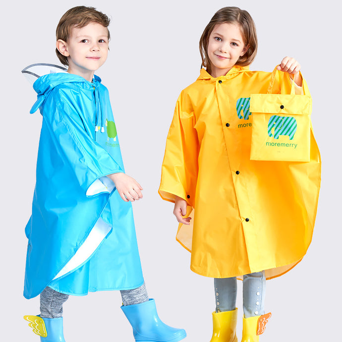 Kocotree Raincoat for Children Cartoon Kids Girls Rainproof Rain Coat Waterproof Poncho Boys Rainwear Kindergarten Baby Rainsuit