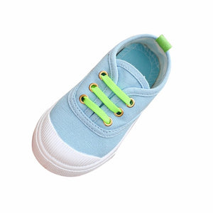 New Baby Fashion Candy Canvas Sneakers Child Casual Shoes first walkers baby born doll shoes