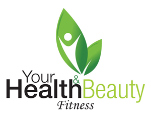 Health, Beauty and Fitness leaf logo