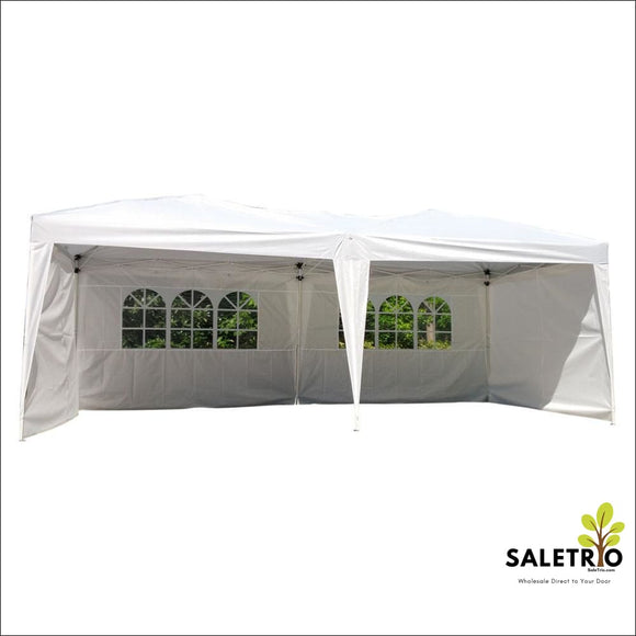 10 X 20 Outdoor Patio Gazebo Ez Pop Up Party Tent Wedding Canopy W/carry Bag - Sports & Outdoor - Free Shipping