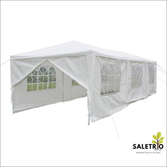 10X30 Canopy Party Wedding Tent White Gazebo - Sports & Outdoor - Free Shipping