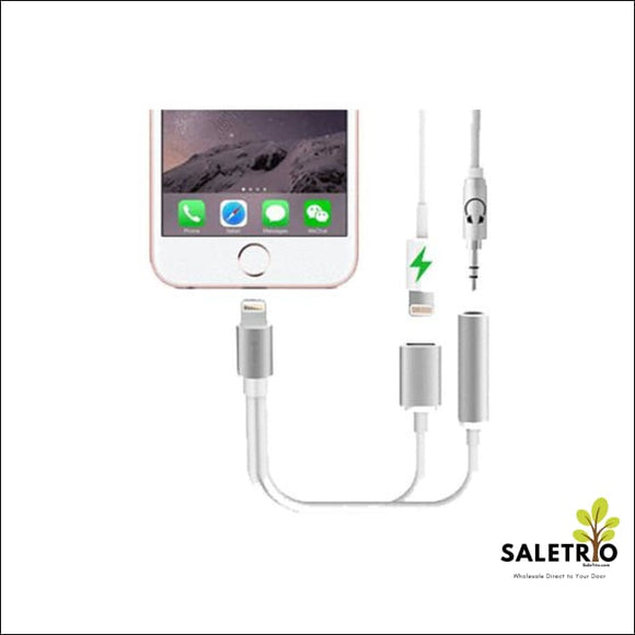 2 In 1 Earphone & Lightning Adapter For Iphone - Consumer Electronics - Free Shipping
