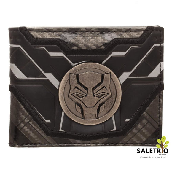 Black Panther Movie Bifold Wallet - Wallets And Keychains - Free Shipping