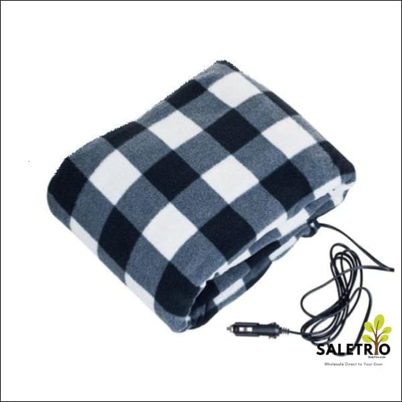 Electric Heating Blankets For Vehicles - Plaid - Consumer Electronics - Free Shipping