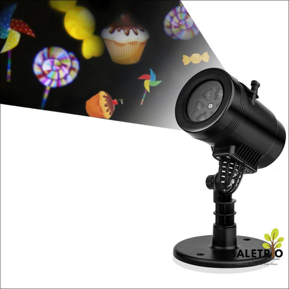 Led Projector Light With 14 Seasonal Pattern Lens For House Decoration - Consumer Electronics - Free Shipping