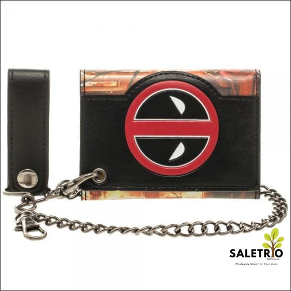 Marvel Deadpool Fire Chain Wallet - Wallets And Keychains - Free Shipping