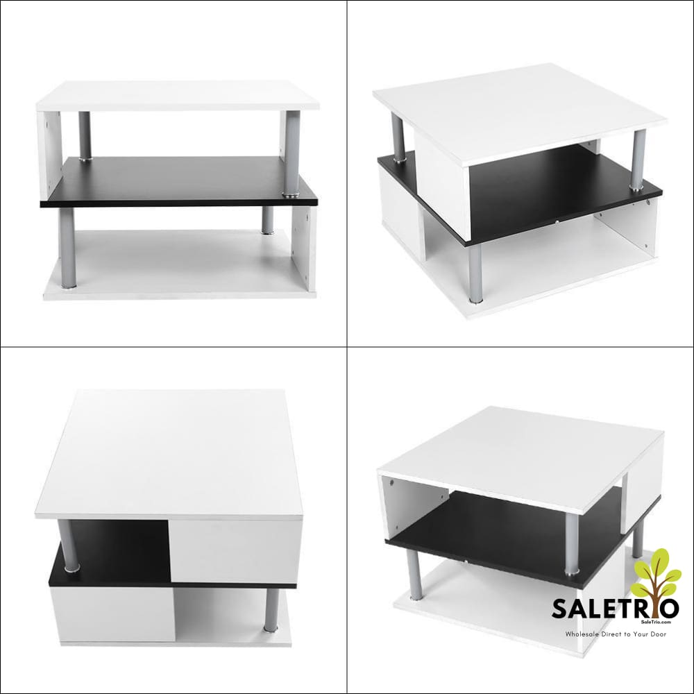 ... Modern Decor Side Table High Gloss Coffee Table   Home U0026 Garden   Free  Shipping