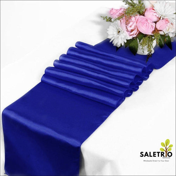 Pack Of 1 Wedding 12 X 108 Inch Satin Table Runner - Home & Garden - Free Shipping
