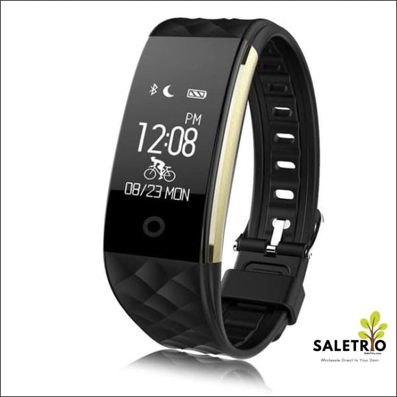 S2 Waterproof Fitness Tracker Smart Band - Black - Jewelry & Watches - Free Shipping