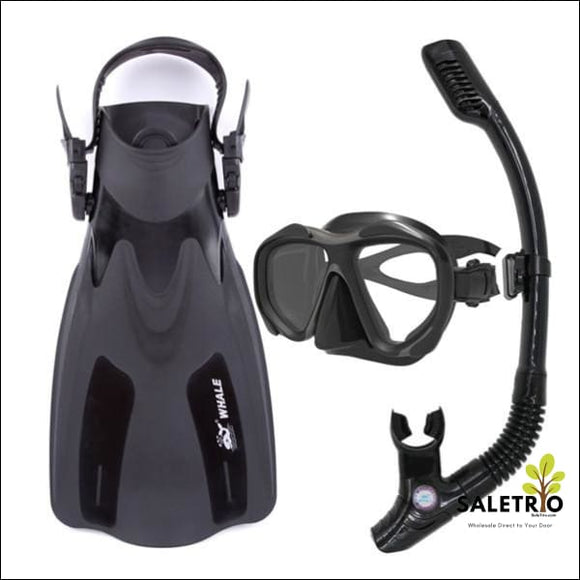 Scuba Diving Equipment Set - Black / Small - Sports & Outdoor - Free Shipping