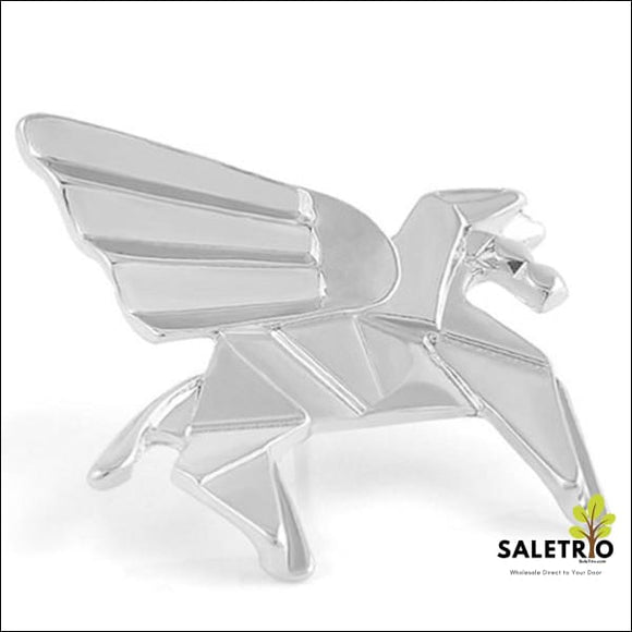 Silver Pegasus Origami Pin - Jewelry & Watches - Free Shipping