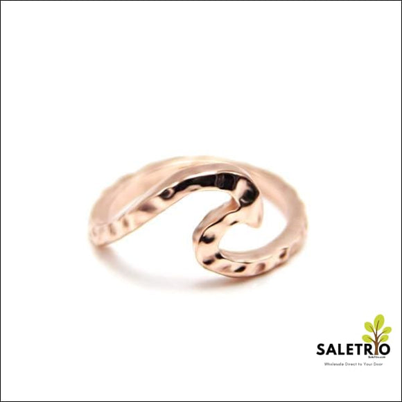 Single Wave Love Ring - Jewelry & Watches - Free Shipping
