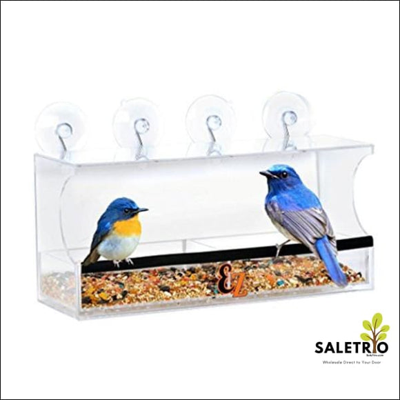 Solar Window Bird Feeder - Home & Garden - Free Shipping