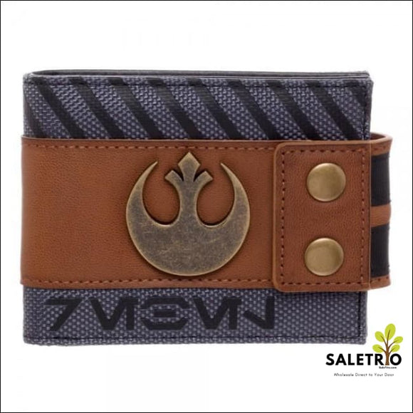 Star Wars Rogue One Rebel Snap Bi-Fold Wallet - Wallets And Keychains - Free Shipping
