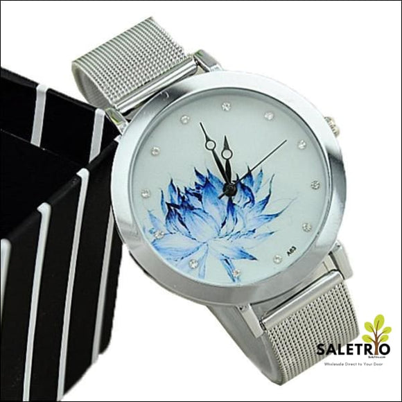 Unique Blue Rose Watch - Jewelry & Watches - Free Shipping