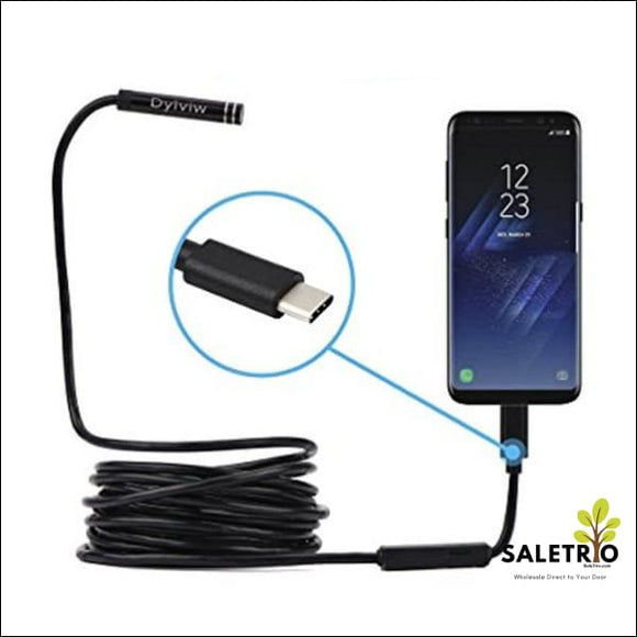 Wireless Endoscope Wifi Borescope Inspection Camera For Iphone & Android - Type C - Consumer Electronics - Free Shipping