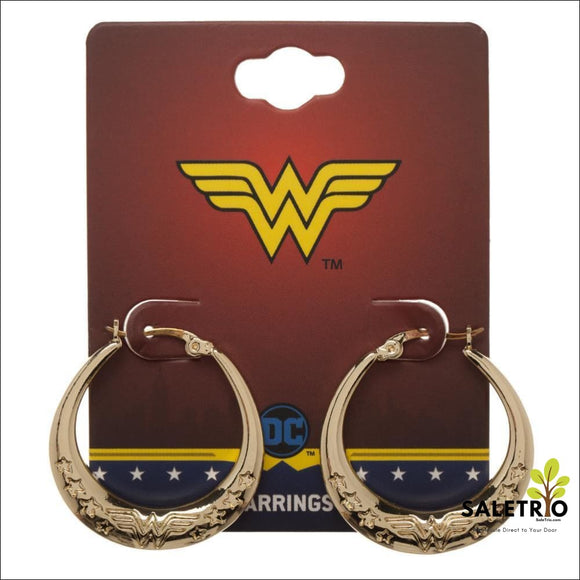 Wonder Woman Earrings Superhero Gift For Girls - Jewelry & Watches - Free Shipping