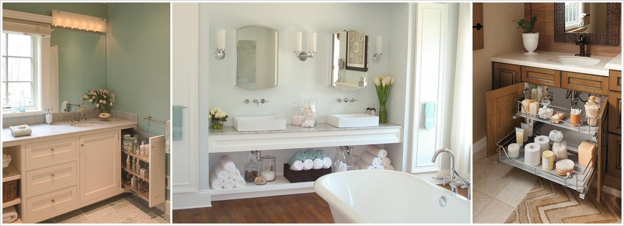 bathroom vanities with storage