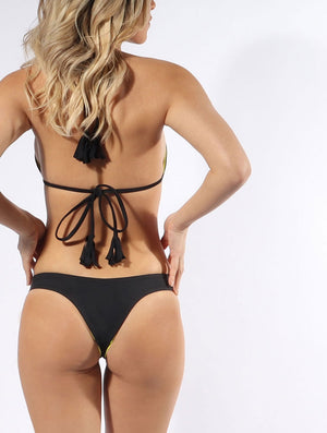 The Rio bikini bottom in Black covers just what you need.