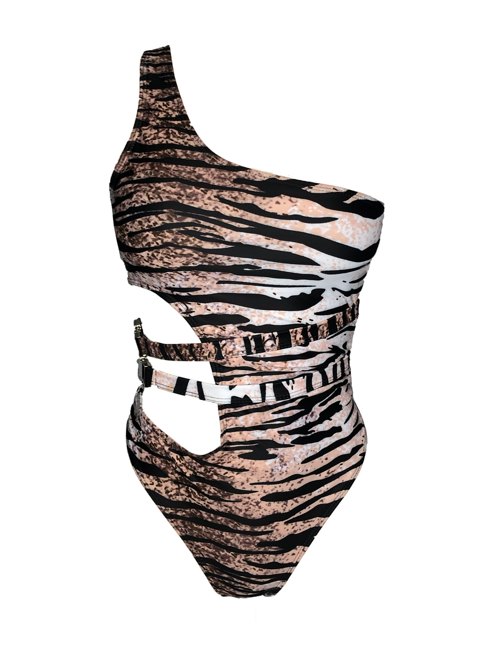 Stormy One Piece - Tiger Print