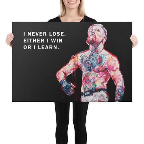 Mcgreggor Canvas never lose print
