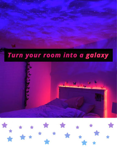 Turn your room into a galaxy