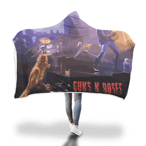 November Rain Hooded Blanket