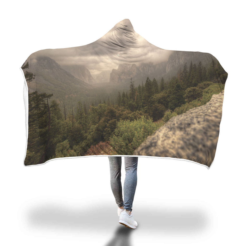 Yosemite Hooded Blanket