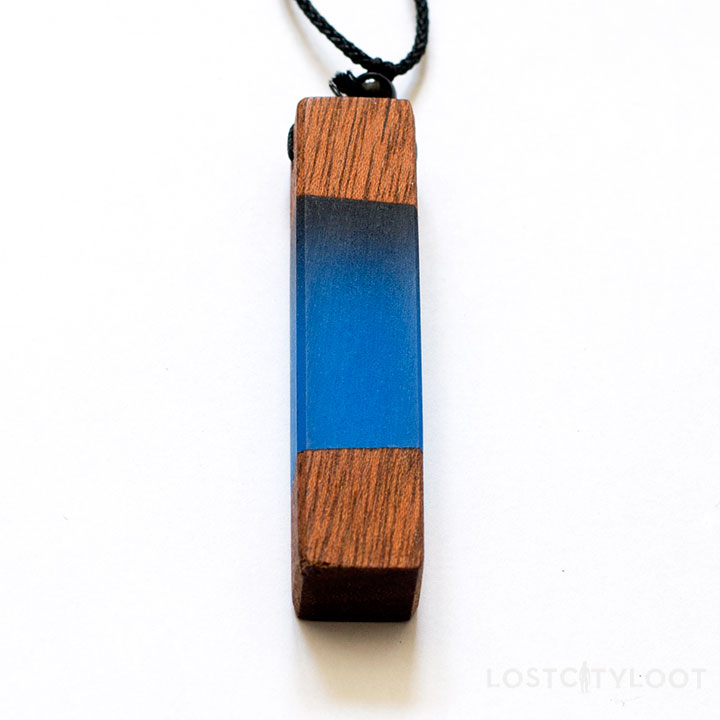Atlantis Wood Resin Necklaces
