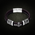Forever Faith Leather Bracelet