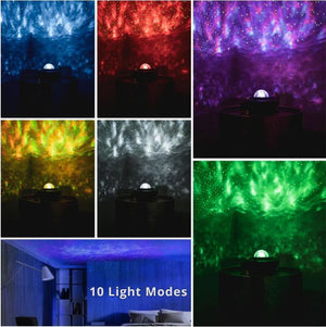 Galaxy Star Lights Projector (Bluetooth Music Speaker and Remote Control)