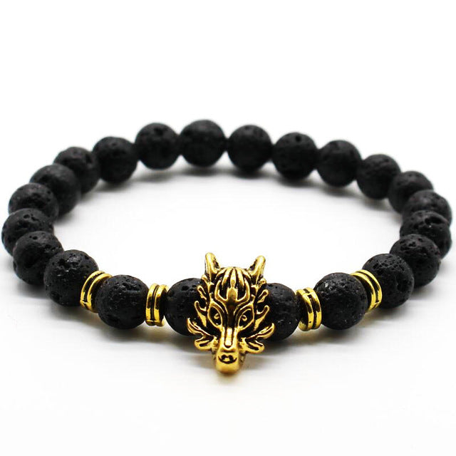 GOLD PLATED FIERCE MATTE BRACELET