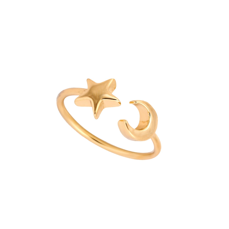 Luna Star Ring