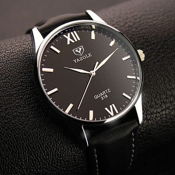 MEN'S YAZOLE QUARTZ WATCH - 40MM [4 VARIANTS]