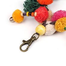 Load image into Gallery viewer, Handmade crocheted Hmong hill tribe girl keychain ACCV001