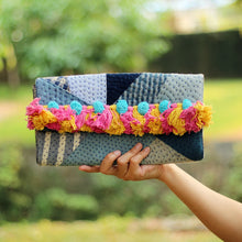 Load image into Gallery viewer, Patchwork Vintage Clutch CC003