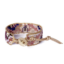 Load image into Gallery viewer, Purple Beaded Bracelet JB007