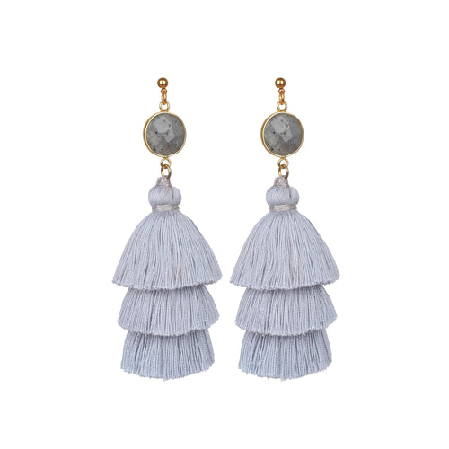 Chandeliers tassels earrings JE005