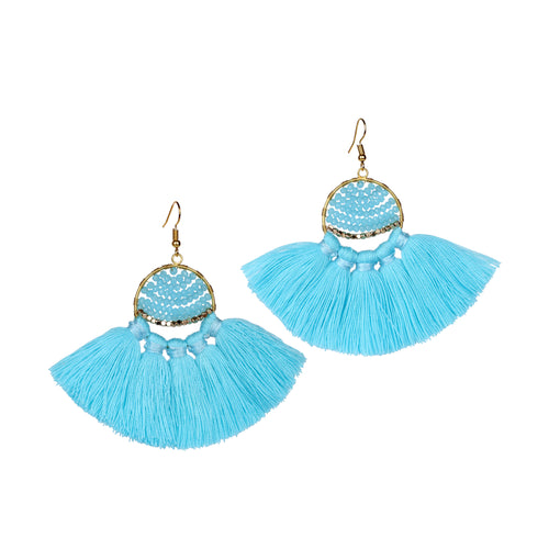 Boho Fringe earrings JE002