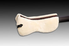 Load image into Gallery viewer, Horse Dream Sheepskin Half Pad with spinal canal free of sheepskin