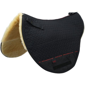 Treeless Sheepskin Saddle pad fully lined with genuine 100% Merino Lambskin. Suitable for Treeless saddles and Cloud Special Bareback pads