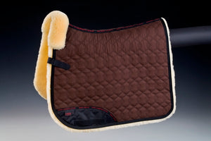 Christ Lammfelle Sheepskin Saddle Square Fully lined