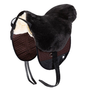 Horsedream UK Sheepskin Bareback Riding Pad - Basic PLUS manufactured by Werner Christ