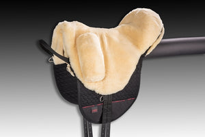 Horse Dream UK Sheepskin High Wither Premium PLUS Bareback Riding Pad manufactured by Christ Lammfelle