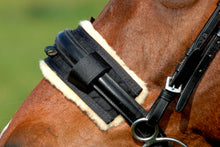 Load image into Gallery viewer, Horsedream Sheepskin Show Noseband Covers